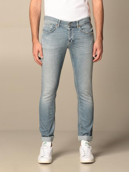 Jeans Ritchie a vita bassa Dondup in denim used
