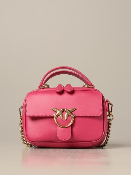 Love mini Square Simply 2 Pinko leather bag