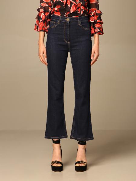 Elisabetta Franchi women: Elisabetta Franchi 5-pocket jeans