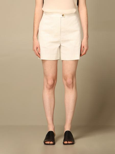 Pinko women: Pinko pinstripe shorts