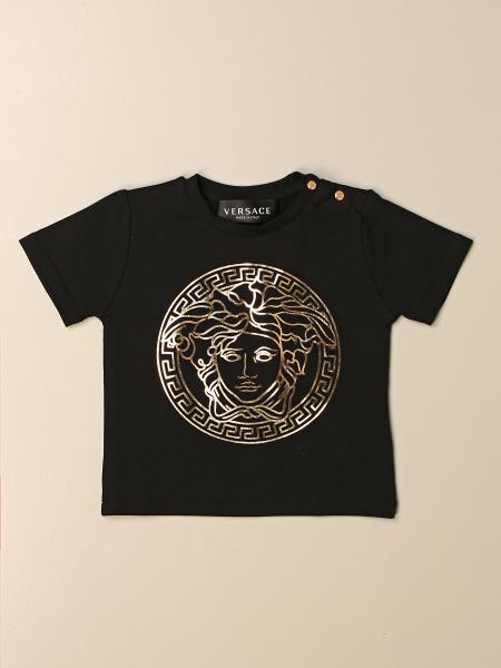 T-shirt Versace Young con testa di Medusa