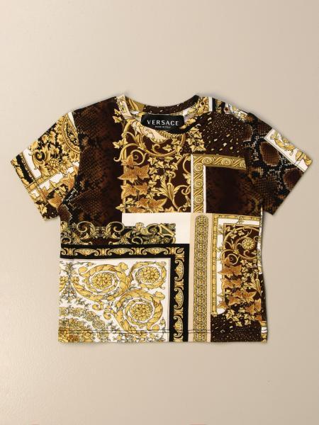 T-shirt Versace Young a fantasia barocca