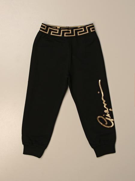 Pantalone jogging Versace Young con greca