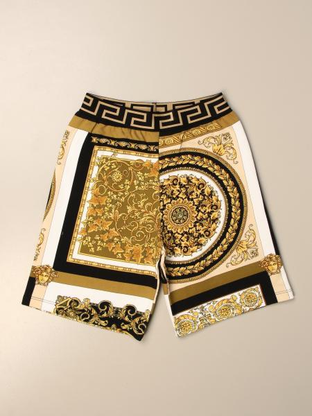 Pantaloncino jogging Versace Young con greca