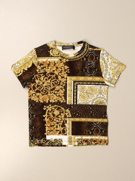 Versace Young t-shirt with baroque pattern