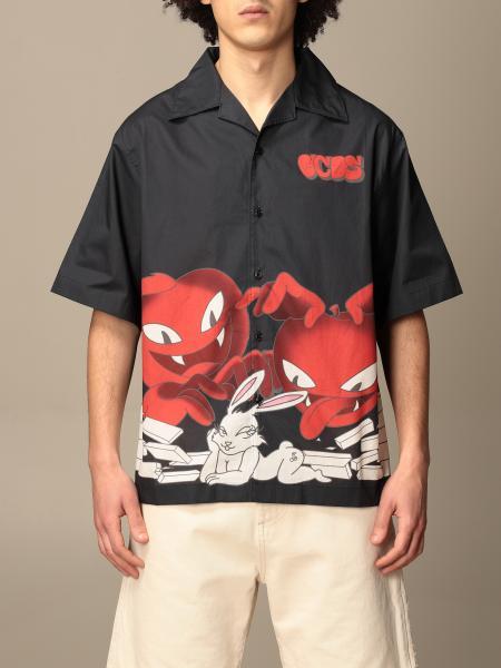 Gcds 短袖印花衬衫