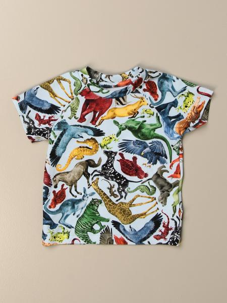 Molo t-shirt in patterned cotton
