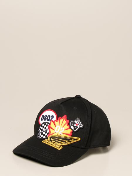 Dsquared2 Junior baseball cap with patches