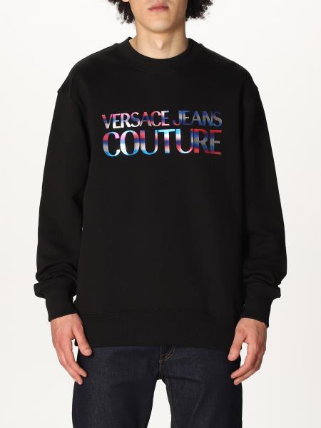 Versace Jeans Couture uomo: Felpa a girocollo Versace Jeans Couture