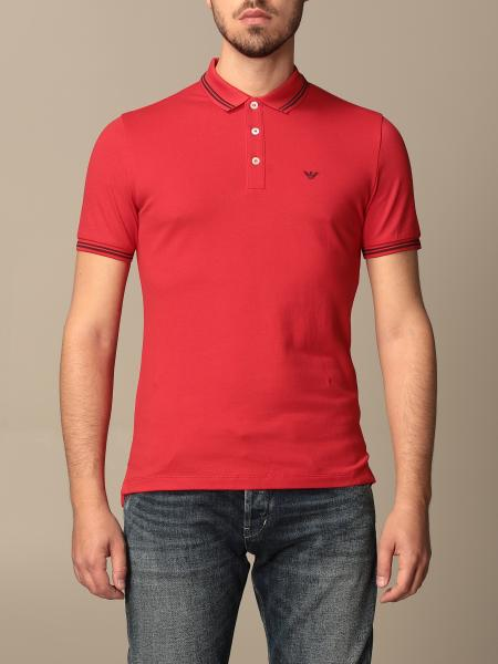 Emporio Armani basic cotton polo shirt