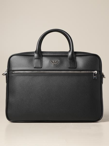 Emporio Armani 24 hour bag in synthetic leather