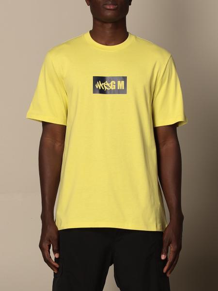 T-shirt Msgm in cotone con logo