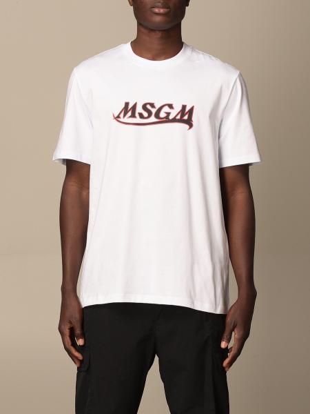 T-shirt homme Msgm