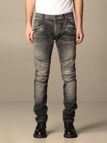 Balmain jeans in washed denim