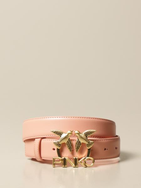 Aster Simply Pinko leather belt with buckle