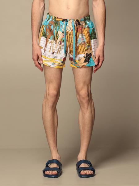 Costume a boxer Moschino Underwear stampato