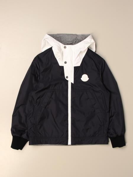 Moncler reversible nylon and cotton jacket