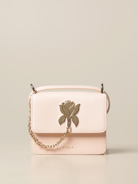 Furla: Furla Tuberosa leather bag