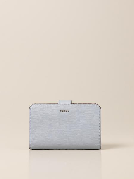 Furla: Babylon M Compact wallet by Furla in saffiano leather