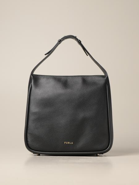 Furla: Ester Furla bag in hammered leather