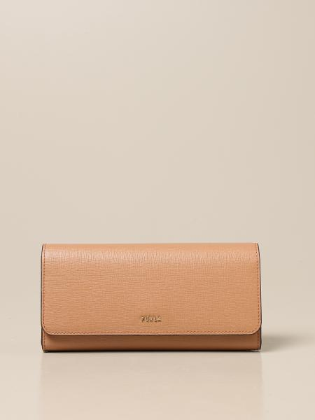 Furla: Furla Babylon continental wallet in saffiano leather