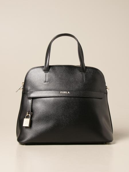 Furla: Piper Furla handbag in grained leather