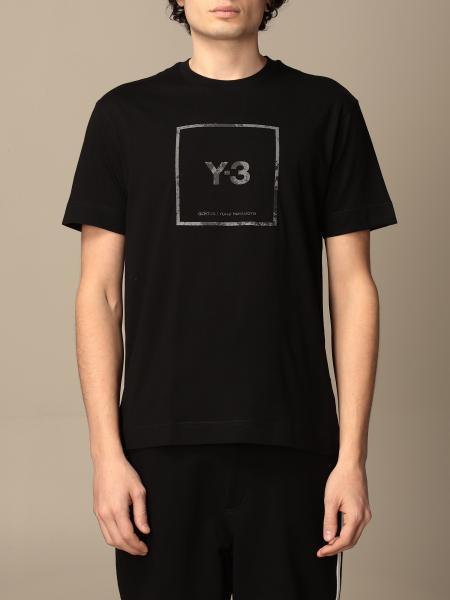 Y-3: Футболка Мужское Y3 Yohji Yamamoto