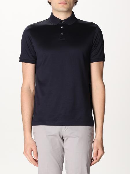 Emporio Armani: Emporio Armani polo shirt with logo