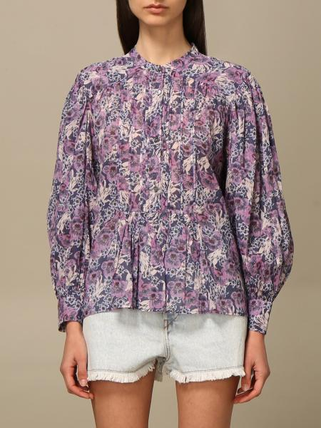 Isabel Marant Etoile: Isabel Marant Etoile shirt in floral cotton