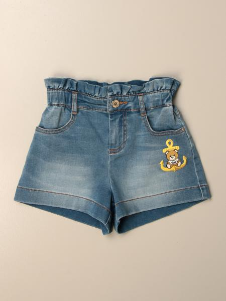 Pantalons courts enfant Moschino Kid