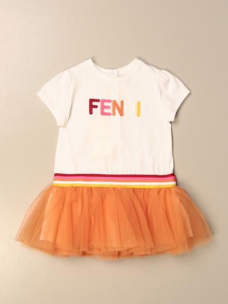 连体装 儿童 Fendi