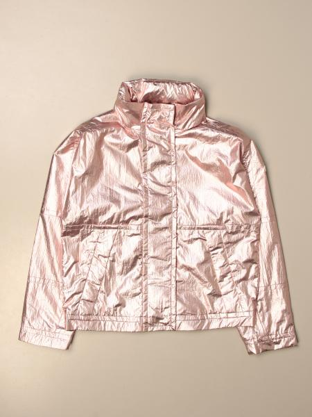 Moncler jacket in laminated fabric
