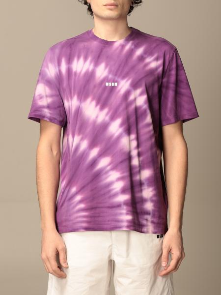 T-shirt Msgm in cotone stampata con logo