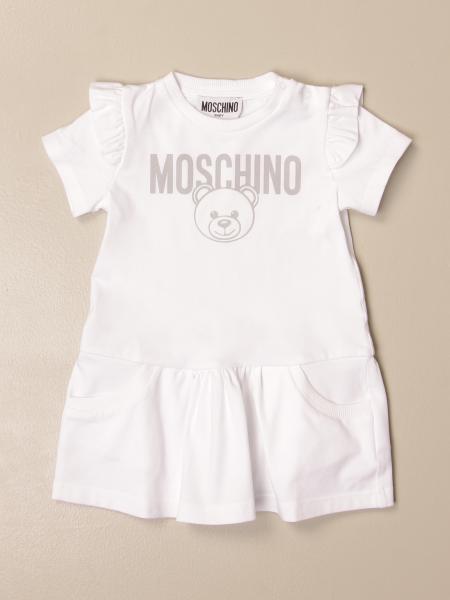 Abito Moschino Baby con logo
