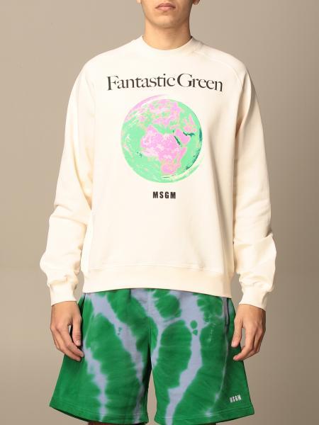 Msgm crewneck sweatshirt with print