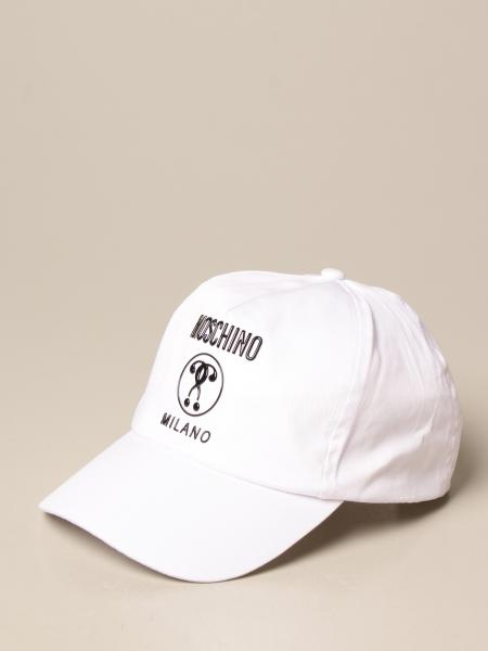 Moschino Kid hat in cotton with logo