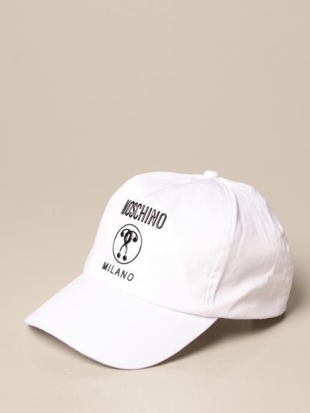 Cappello Moschino Kid in cotone con logo