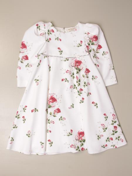 Monnalisa floral patterned dress