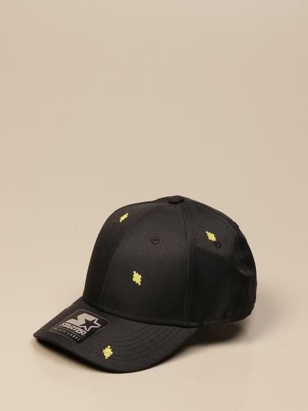 Marcelo Burlon baseball cap with all-over mini logo