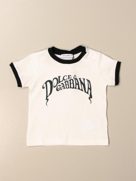 T-shirt Dolce & Gabbana in cotone con logo