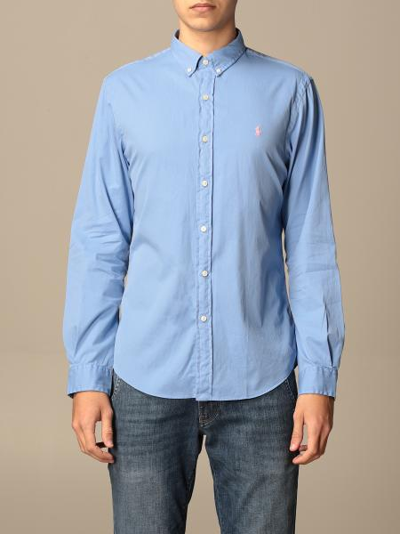 Polo Ralph Lauren cotton shirt with button down collar
