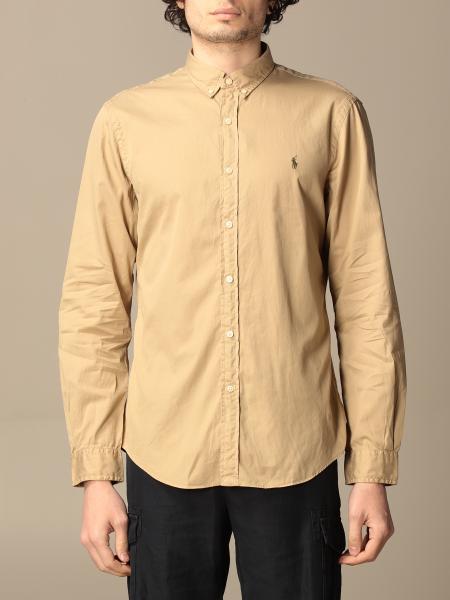 Polo Ralph Lauren: Рубашка Мужское Polo Ralph Lauren