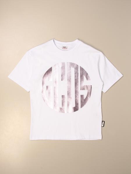 Gcds cotton T-shirt with laminated logo
