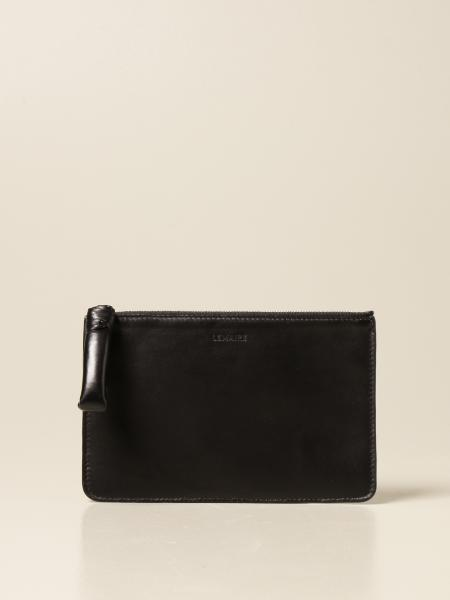 Lemaire clutch bag in smooth leather