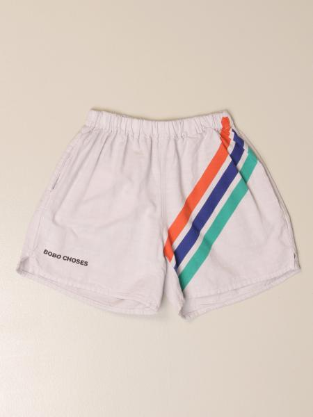 Bobo Choses jogging shorts in cotton with bands