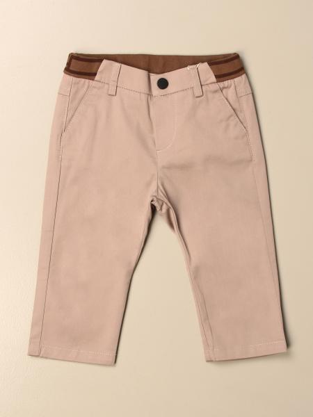 Pantalone Chino Fendi con fascia e logo FF
