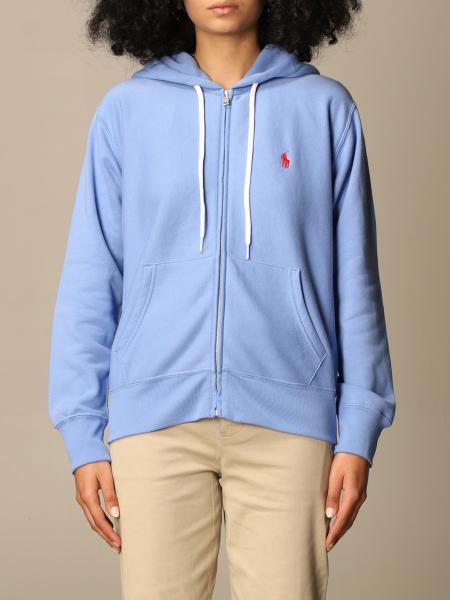 Polo Ralph Lauren donna: Felpa con cappuccio Polo Ralph Lauren con logo