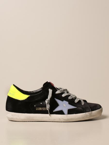 Golden Goose women: Superstar Golden Goose sneakers in suede