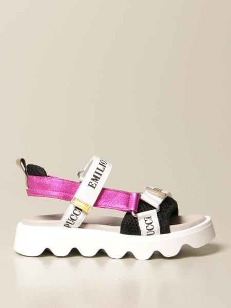 Emilio Pucci: Zapatos niños Emilio Pucci