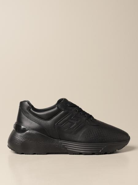Sneakers Hogan in pelle traforata